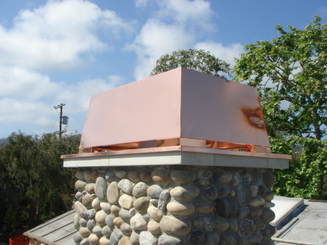 Decorative Chimney Shrouds Western Sheet Metals Inc